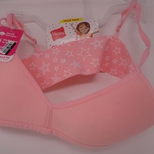 Pink Girls Bra Size Large/Adjustable Straps